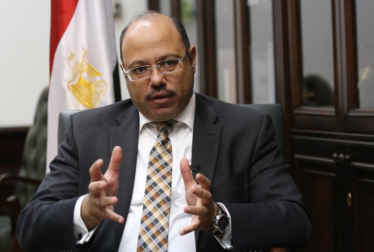 Egypt's Finance Minister Hany Kadry Dimian. Photo: Mohamed Abd El Ghany/Reuters