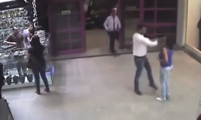 Screen capture of the sexual harassment and physical abuse incident at a mall in Cairo.