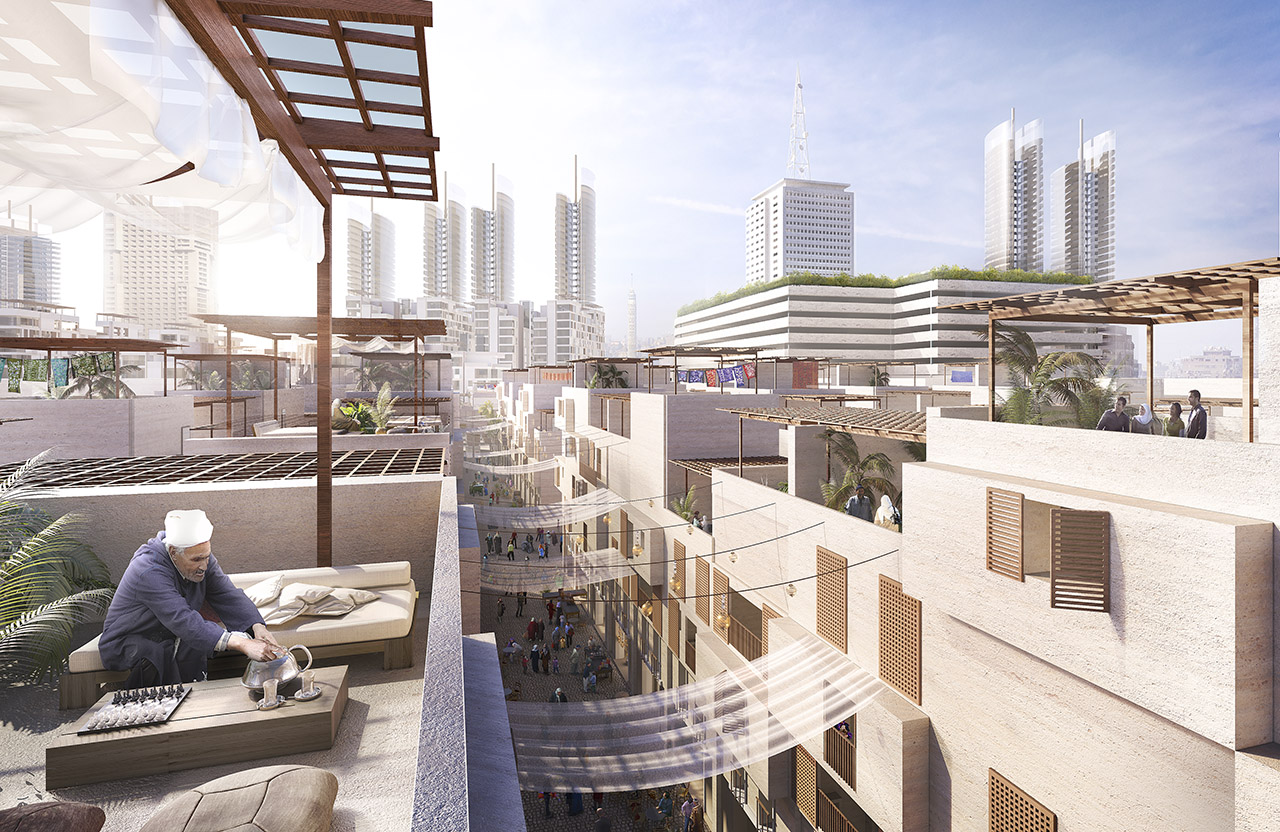 Foster + Partners' vision for the Maspero district