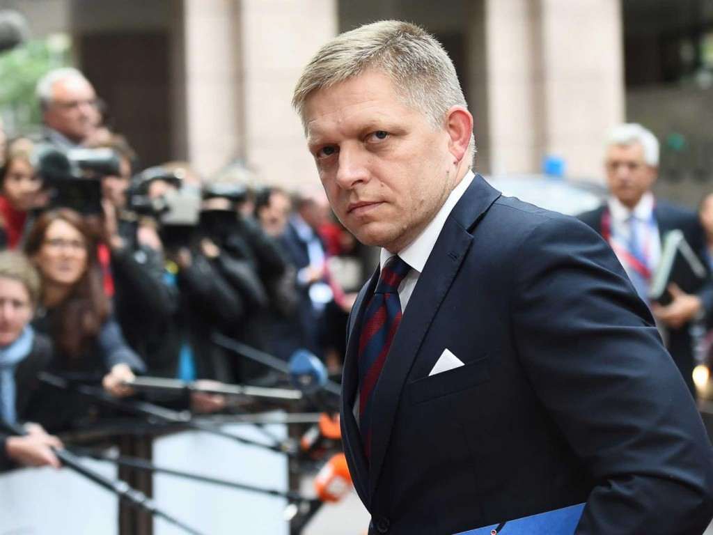 Slovakian Prime Minister Robert Fico. Photo: Getty Images