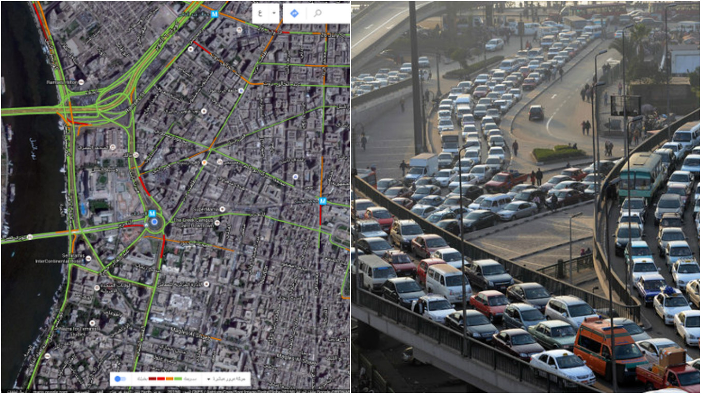 how to turn on traffic in google maps