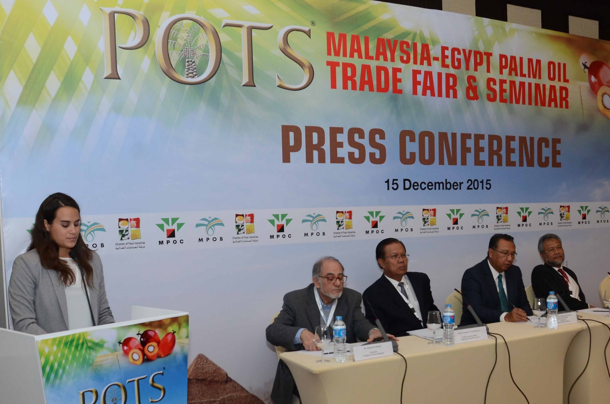 POTS Egypt 2015 Press Conference