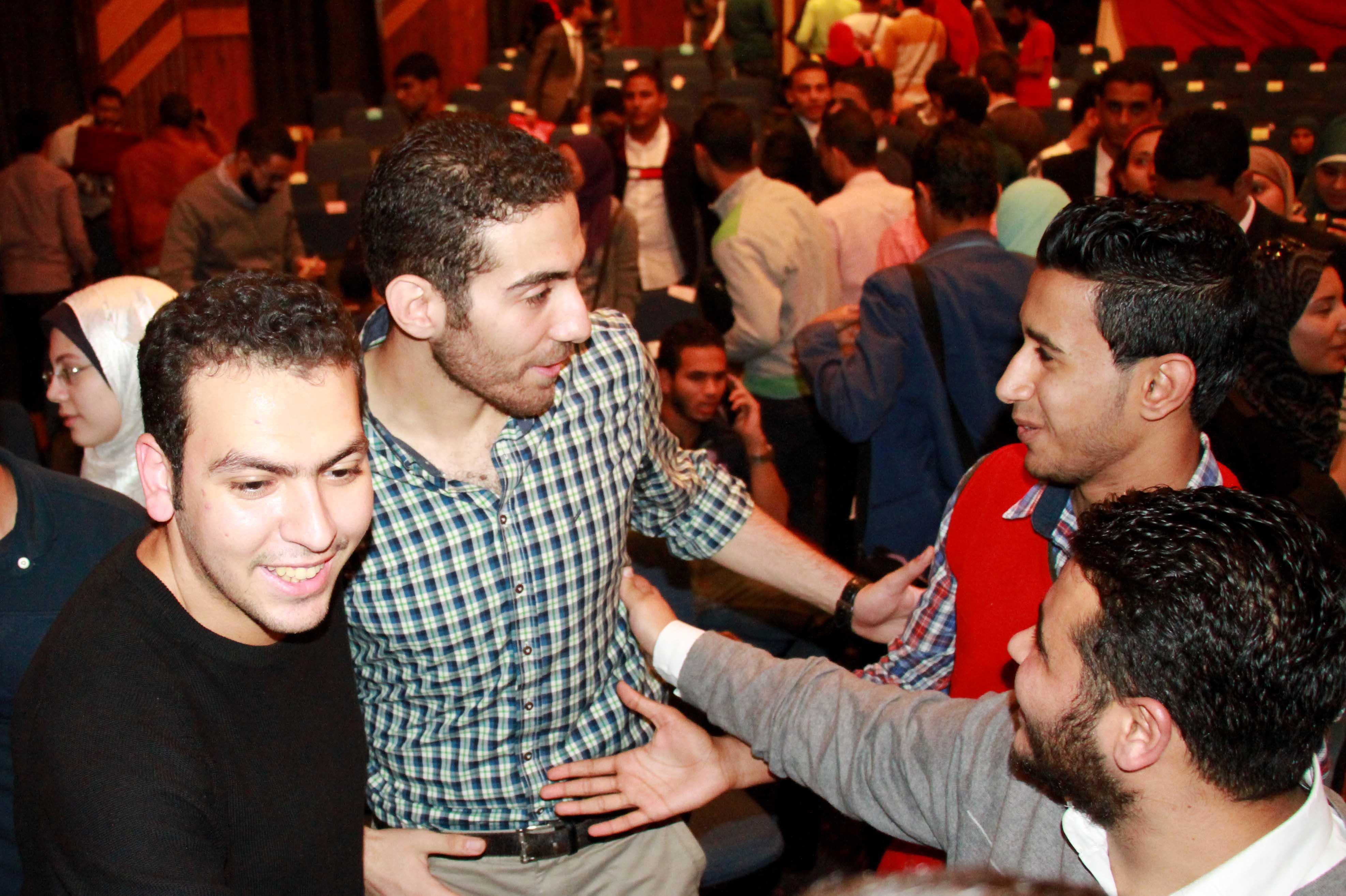 Cairo University Student Union elections, Nov. 22. Photo by Mousa el-Zarif / Aswat Masriya