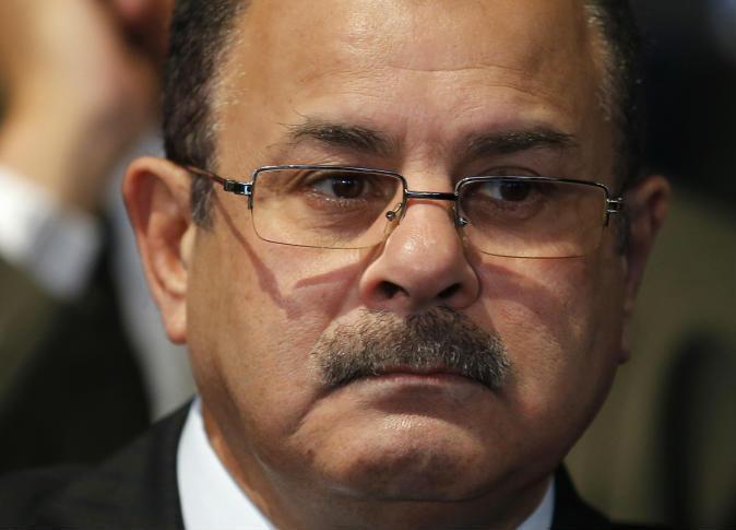 Egyptian Minister of Interior Magdy Abdel Ghaffar