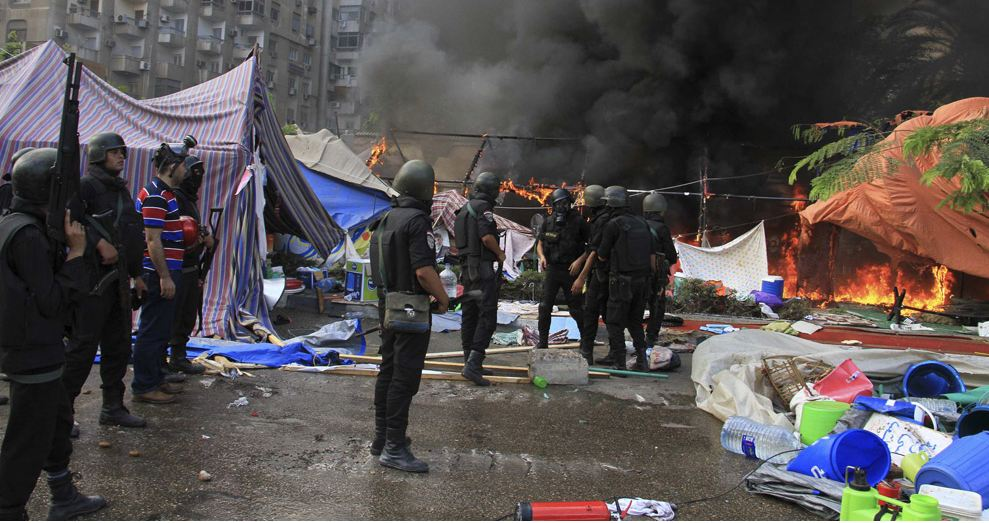 Dispersal of Rabaa sit-in. Photo: Reuters