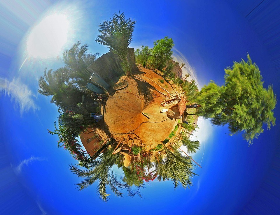 360 degrees panorama image of Habiba Organic Farm. Source: HOF Facebook page