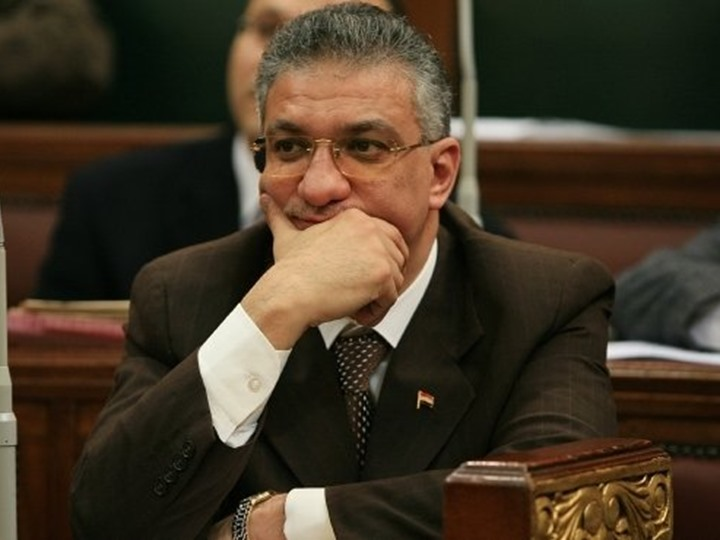 Ahmed Zaki Badr, Egypt's Minister of