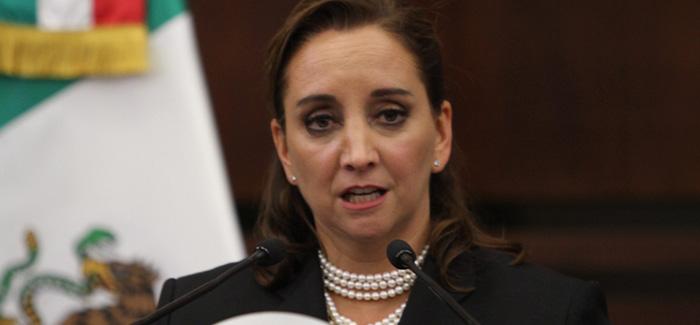 Mexico's Foreign Minister Claudia Ruiz Massieu. Credit: Notimex