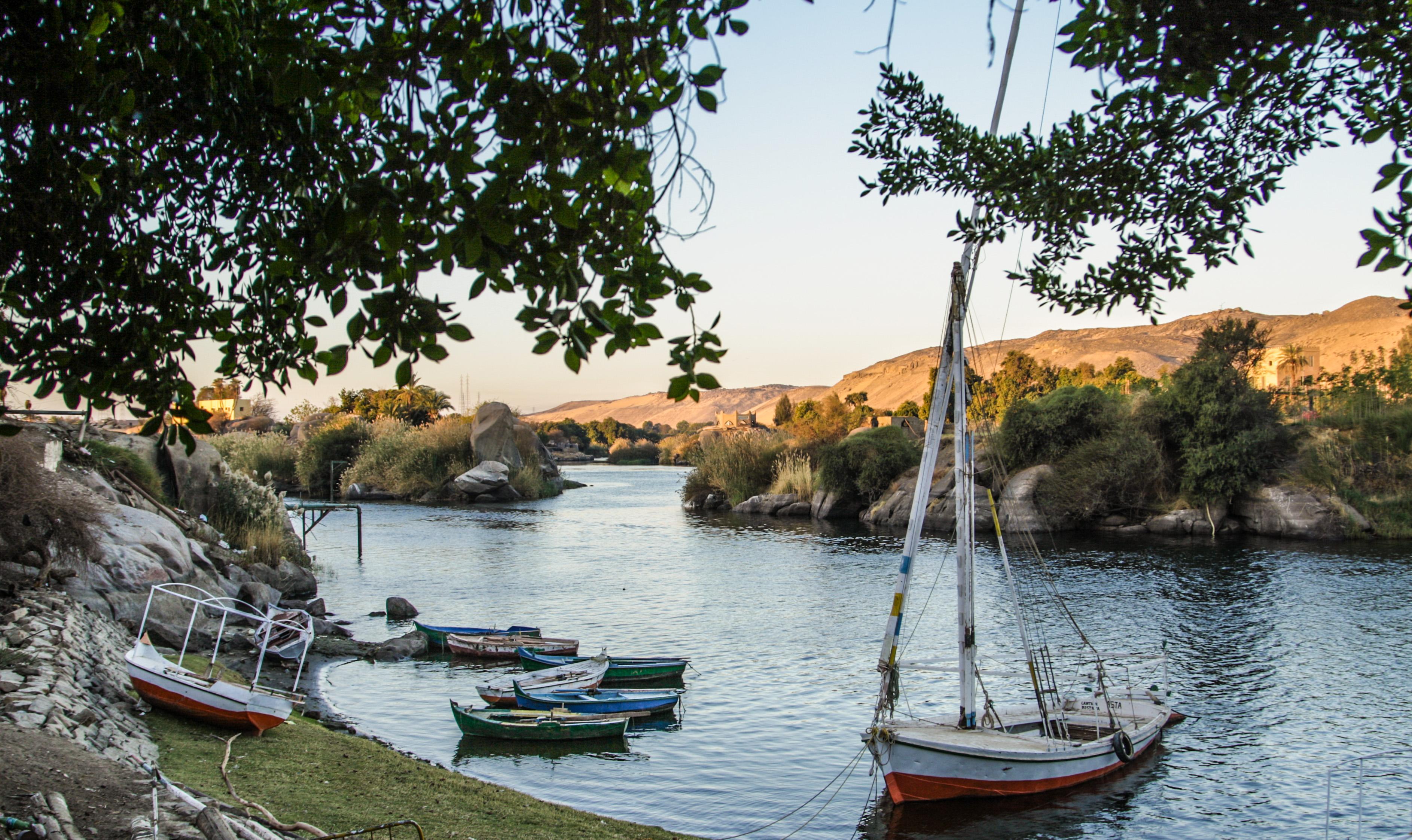 Elephantine Island in Aswan. Credit: Enas El Masry
