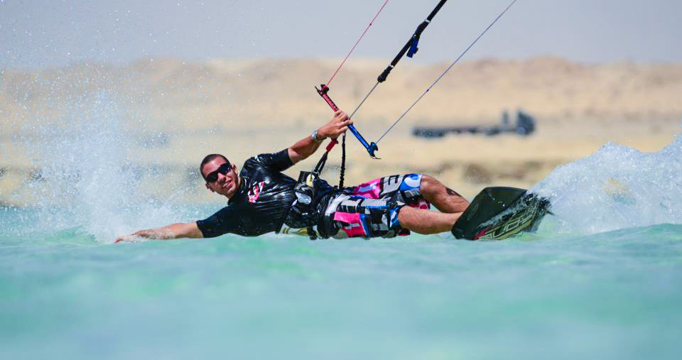 Courtesy of kitesurfer Marwan El Kady