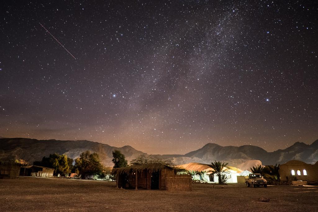 Night view of Ras Shitan. Credit: Mohamed Hakem