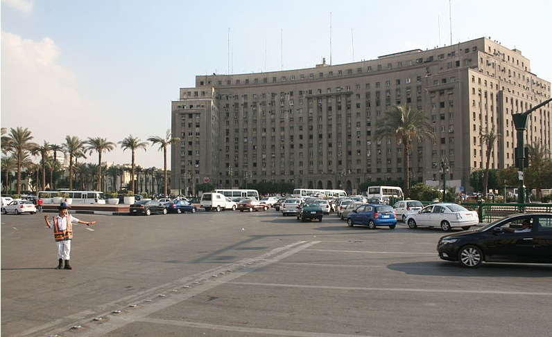 Mugamaa, Tahrir Square (September 2011, Diego Delso/Wikimedia Commons)