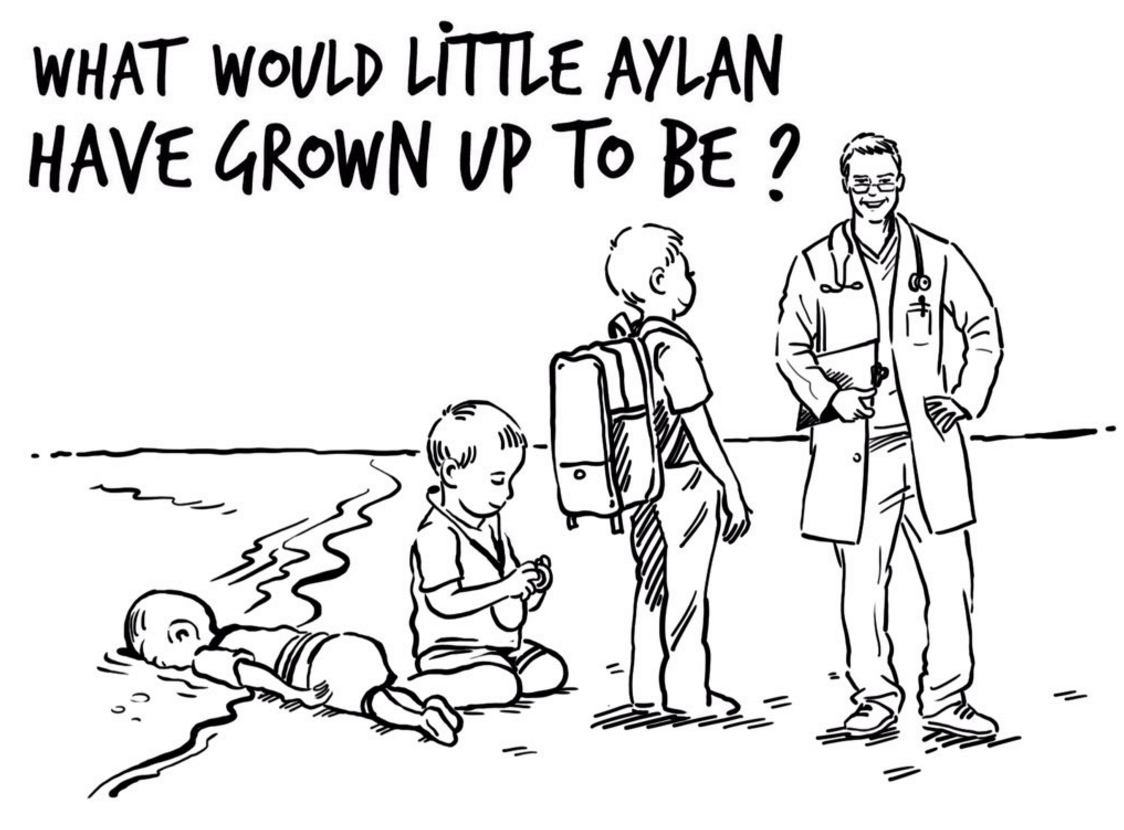 Queen Rania Imagines a Different Future for Drowned Three-Year-Old