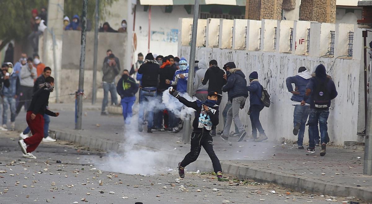 tunisia-protest