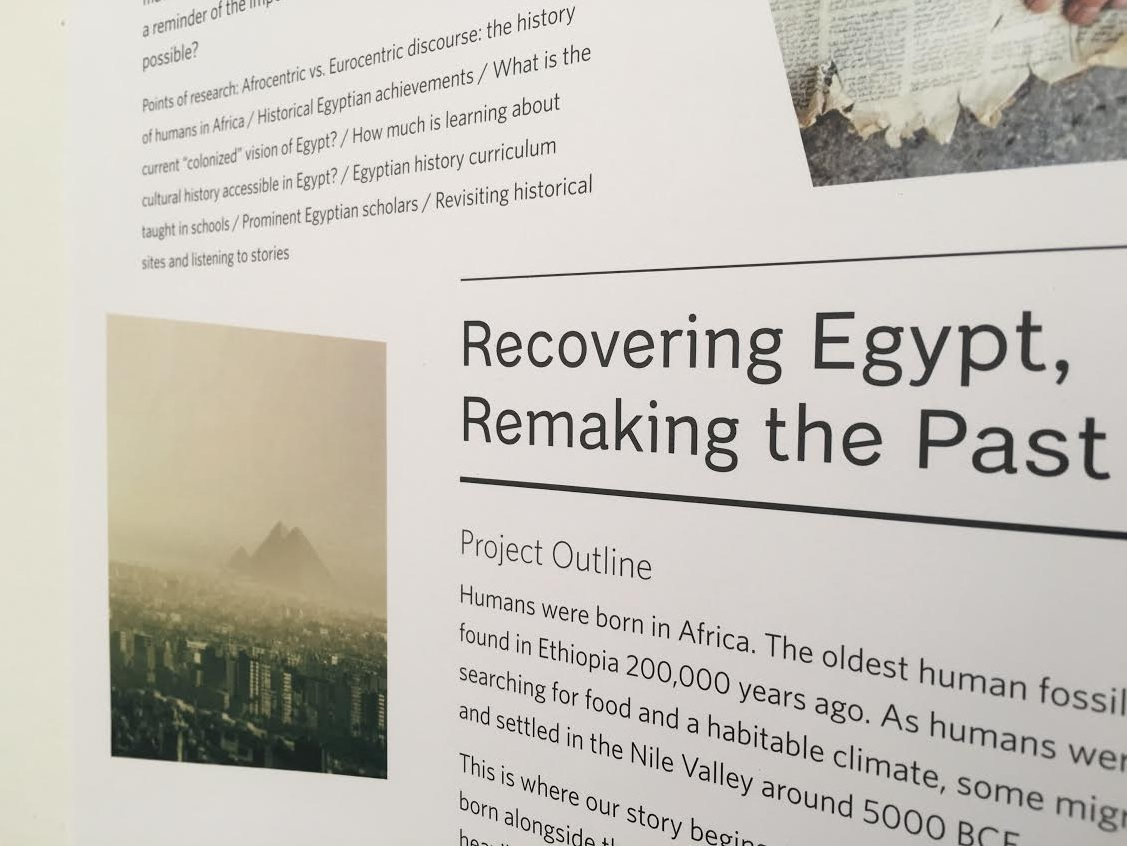 Recovering Egypt, remaking the past