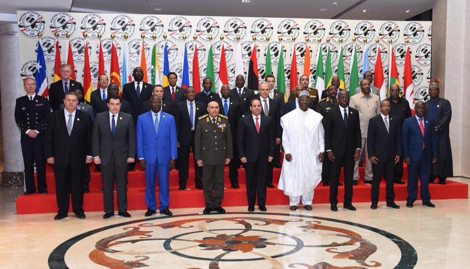 Photo from the CEN-SAD conference in Egypt via Egypt's Presidency