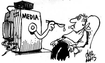 Image result for Media bias CARTOON