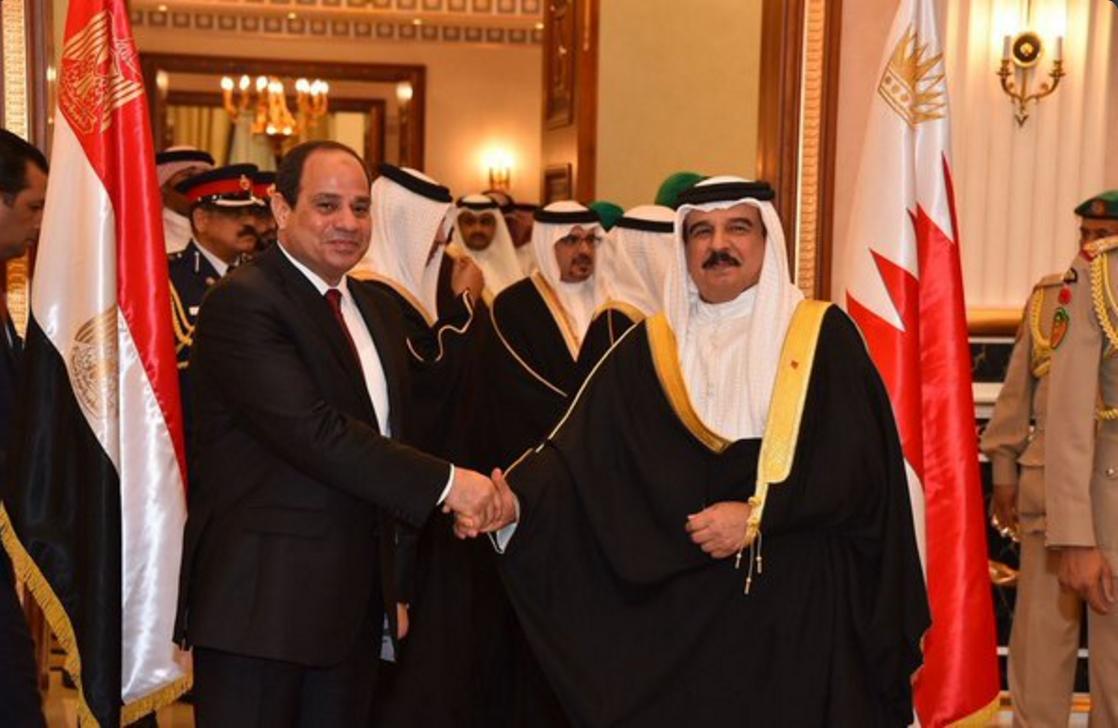 sisi bahrain king