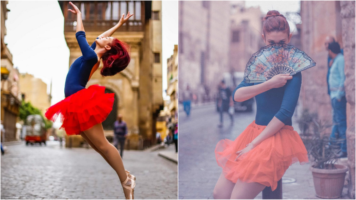 stunning photographs capture ballet in the heart of cairo