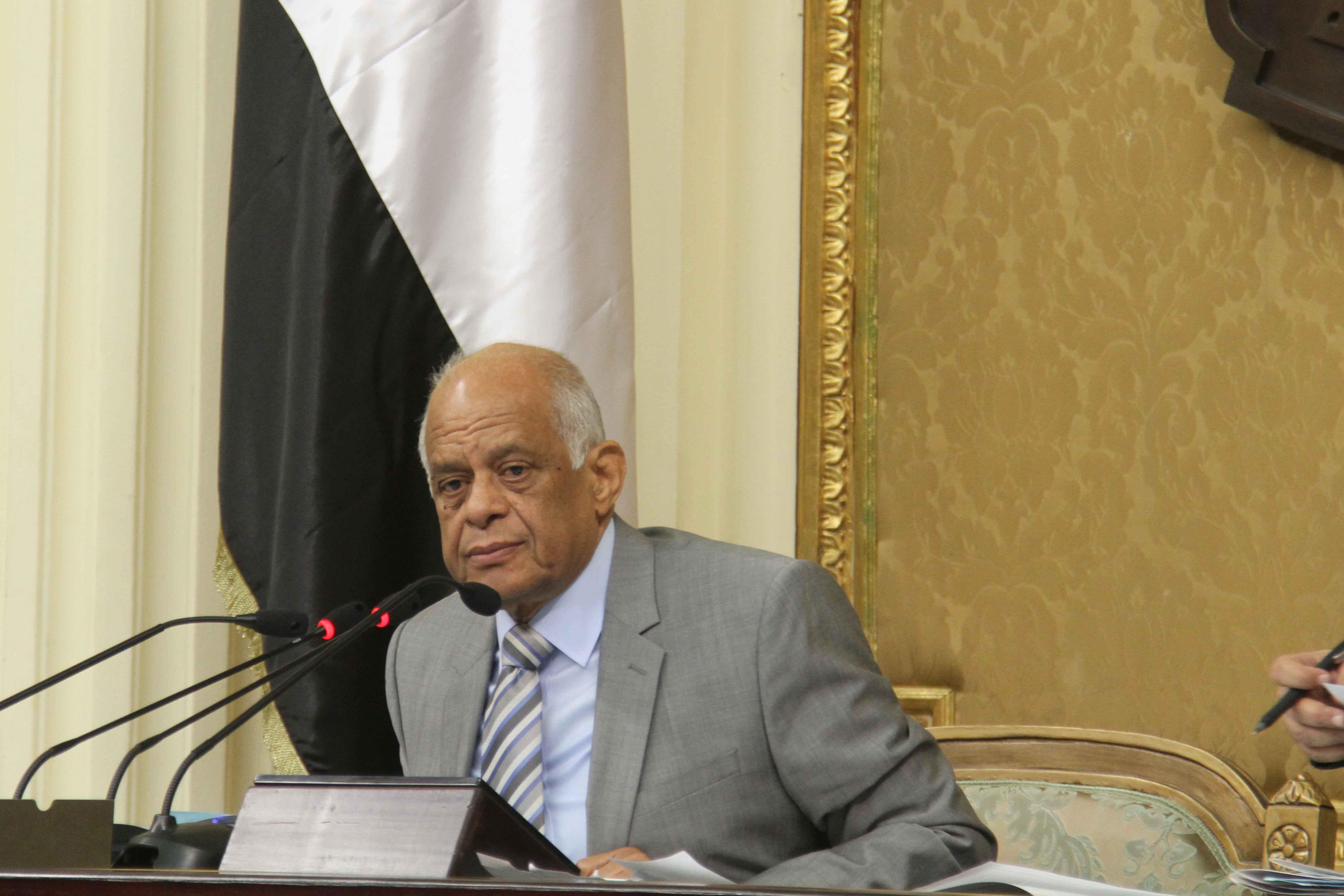 Egypt`s parliamentary speaker, Ali Abdel Aal