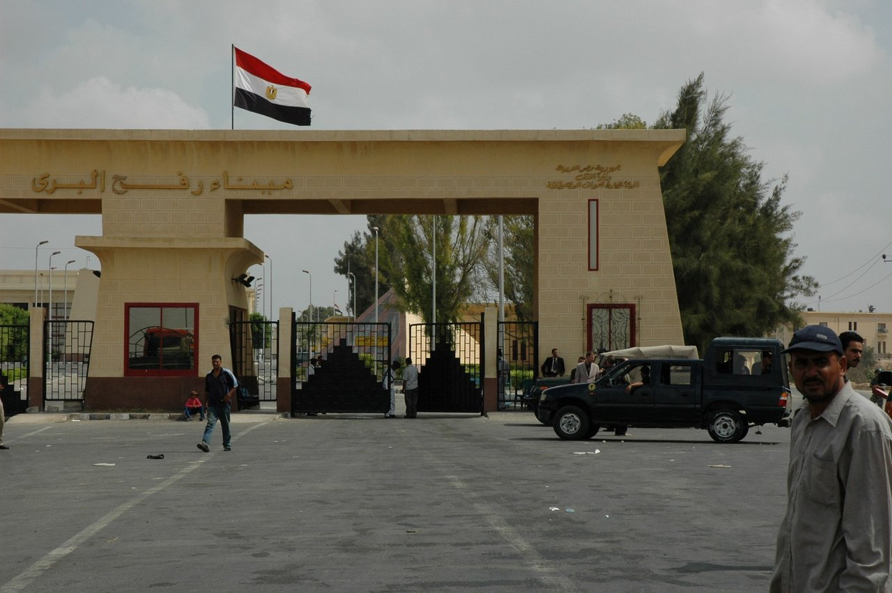 Rafah-border-crossing-Egyptian-side-the-prohibited-gate