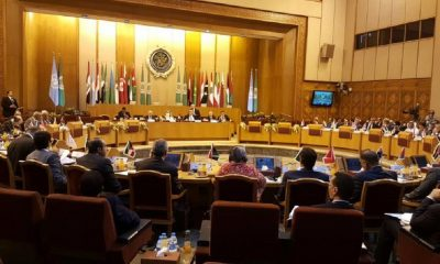 United Nations Security Council meets in Cairo, Egypt, with League of Arab States. Photo: UNIC Cairo