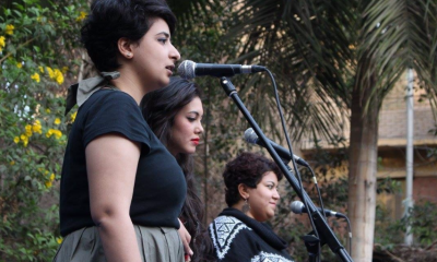 Bint al-Masarwa music band. Photo credit: The band's Facebook page