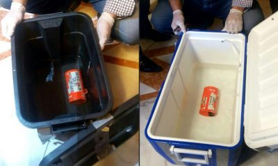 The 'black boxes' retrieved from EgyptAir flight MS804 (AFP/Media center of the Egyptian Ministry of Civil Aviation)
