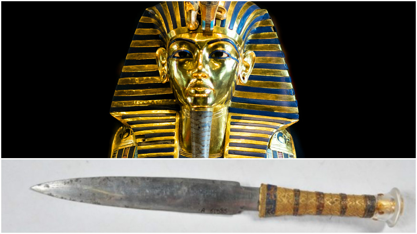 king tutankhamin s extraterrestrial connection dagger made from a king tutankhamin s extraterrestrial connection dagger made from a meteorite