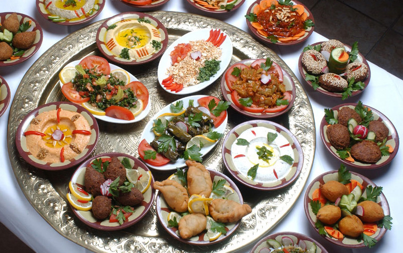 How fine dining can save egyptian cuisine egyptian streets for Canape aperitif froid