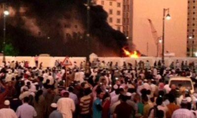 Scene of the Medina attack Photo: Reuters