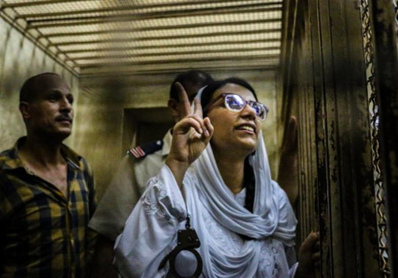 Mahienour El Masry in court