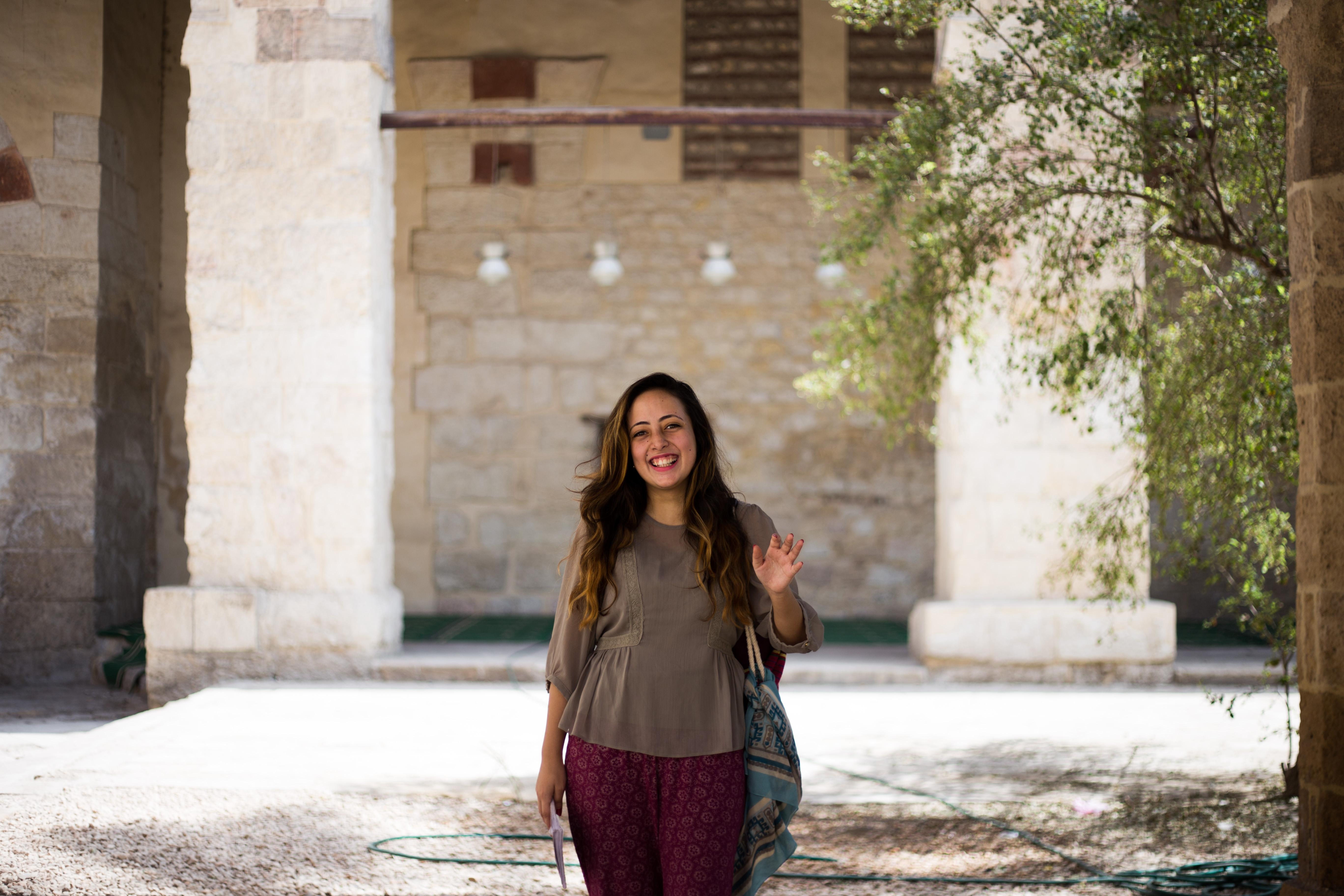 Esraa Farouk, 23. Photo: Belal Darder