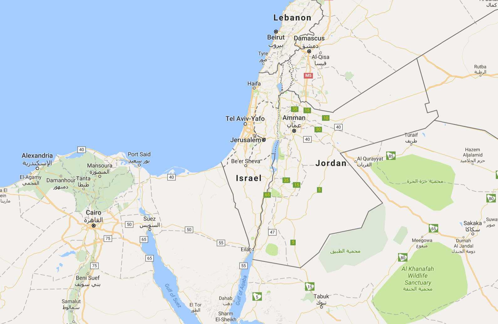 Uproar after google removes palestine from google maps for Goodl