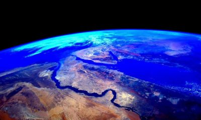 Egypt as seen from space. [Photo by Scott Kelly]