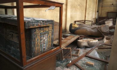 Malawi Museum after being looted in August 2013.