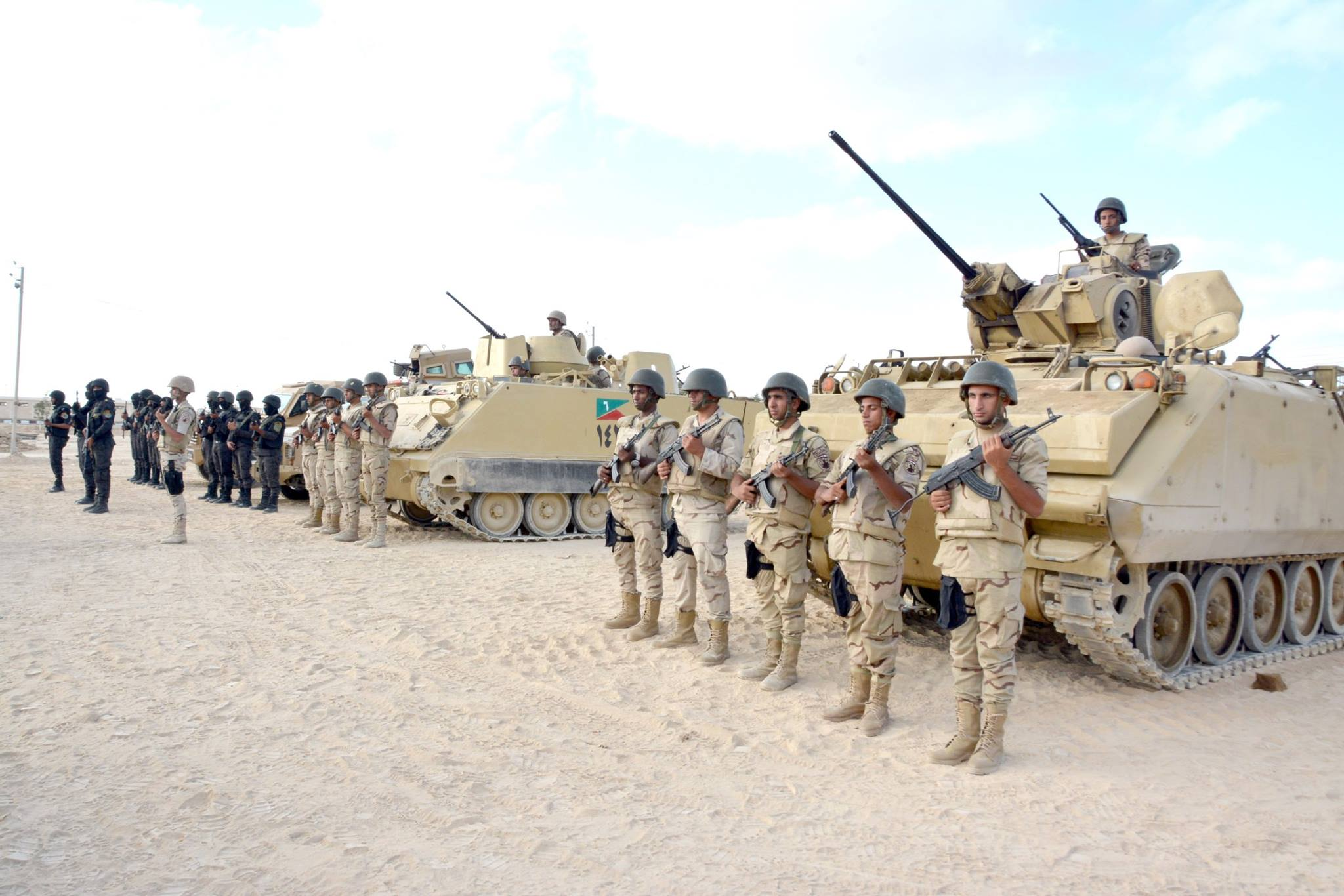 Egypt's military prepares ahead of new operations against militants in Sinai