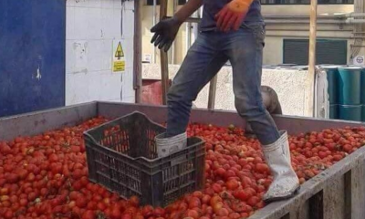 One of the leaked images allegedly from a Heinz Egypt factory.