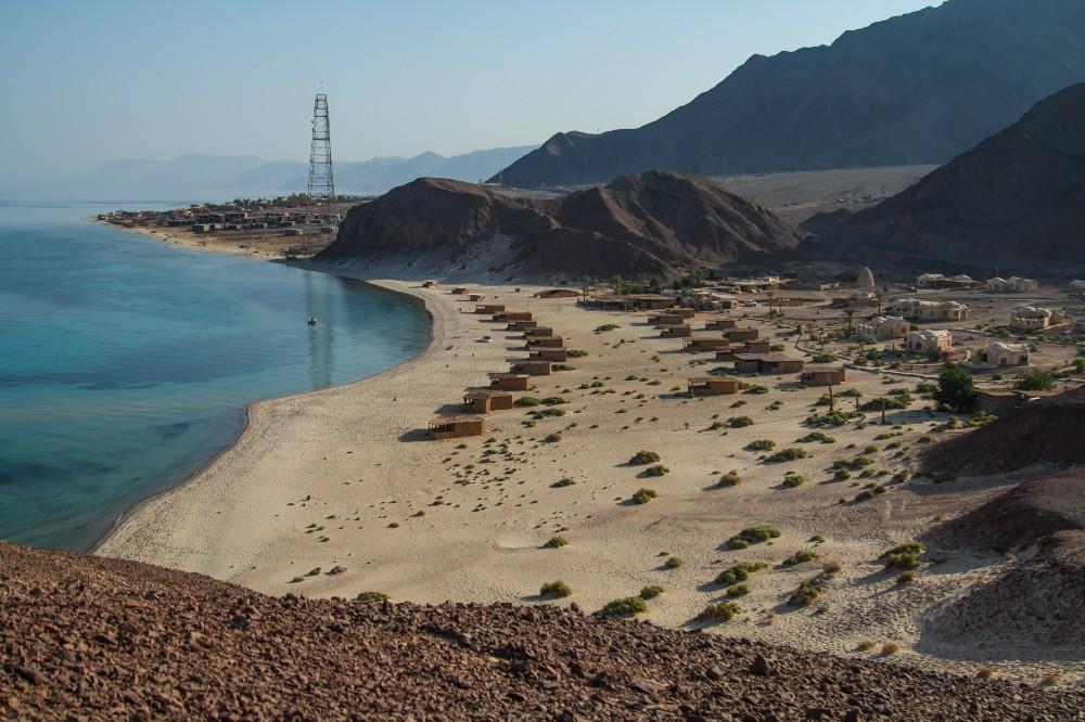 View of Basata from top. Credit: Enas El Masry