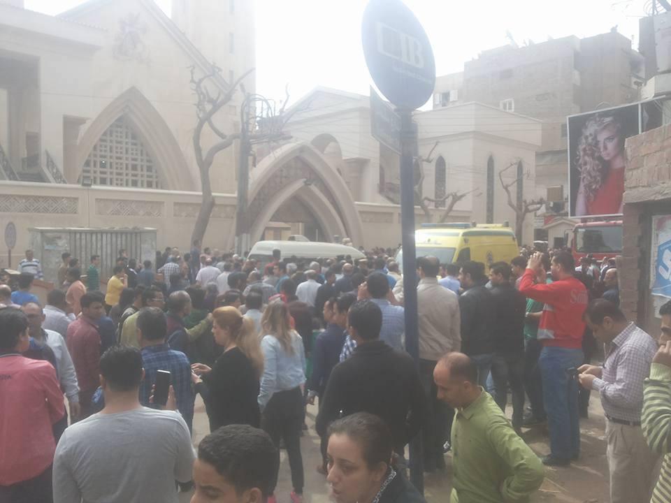 28 killed in church bomb attack in egypt u0026 39 s tanta