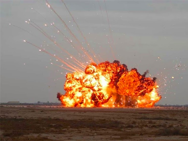The United States Drops Moab In Afghanistan Egyptian Streets