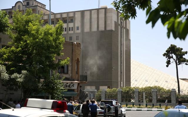 Twin attacks on Iran parliament, Khomeini shrine, 1 dead