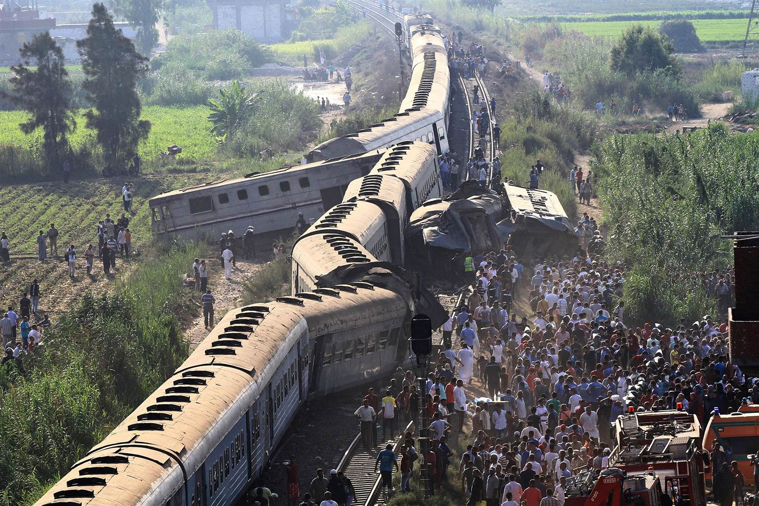 Train accidents in egypt every year railway