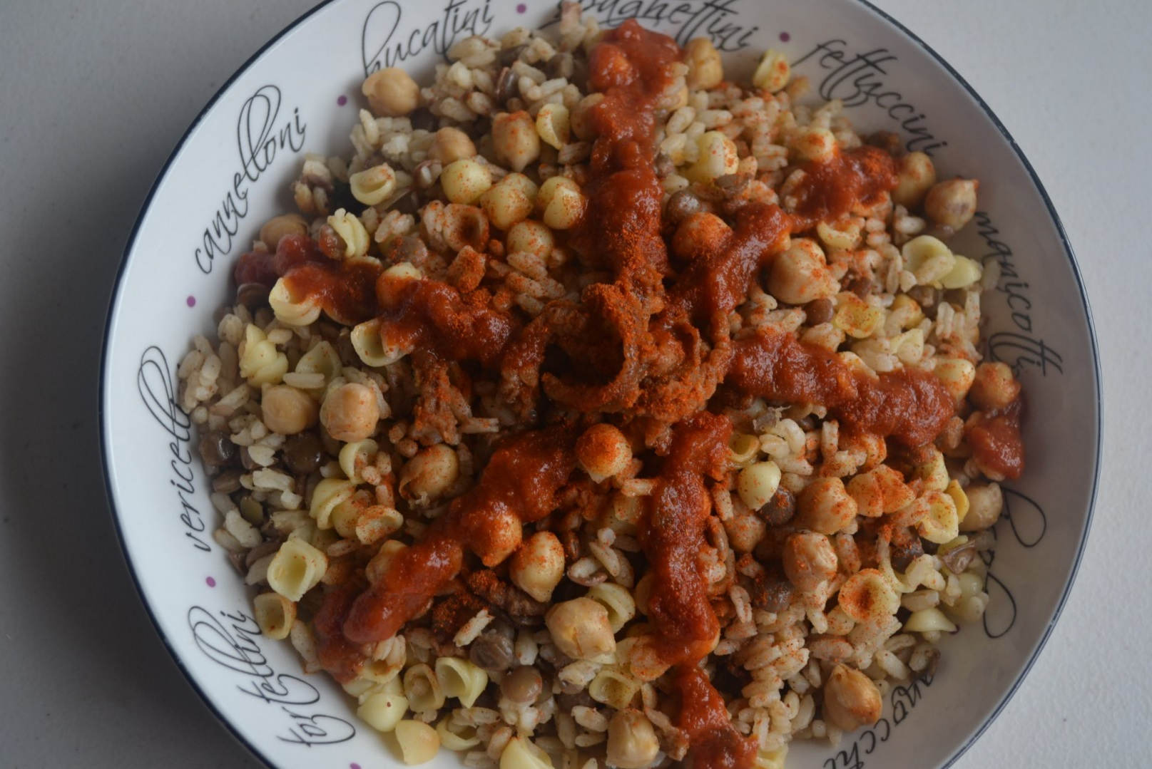 Koshari how to make egypts national dish egyptian streets koshari is the ultimate egyptian comfort food whether its a family recipe or a bustling cairo street vendor koshari never disappoints forumfinder Images