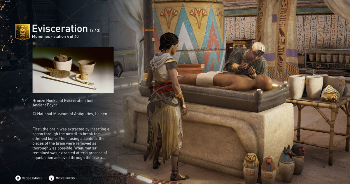 Assassin's Creed Origins to Include Educational Discovery Tour Mode
