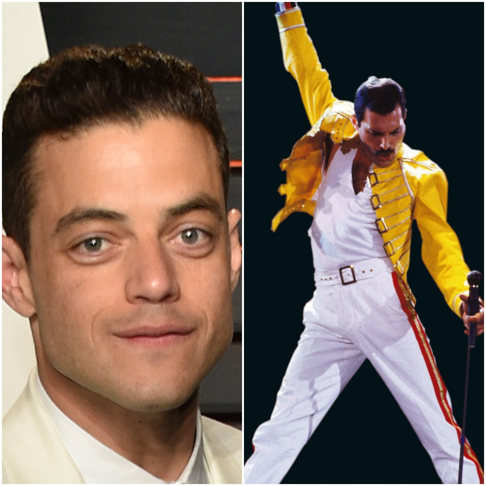 Rami Malek is Freddie Mercury in Bohemian Rhapsody first look