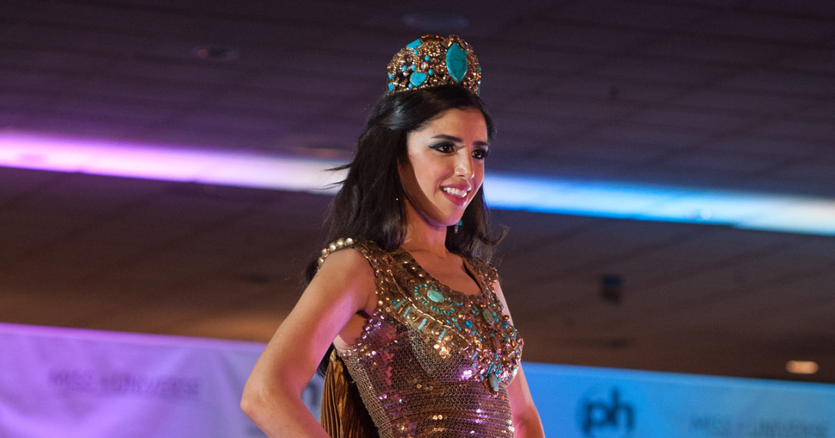 miss egypt competes in miss universe  opens up about being