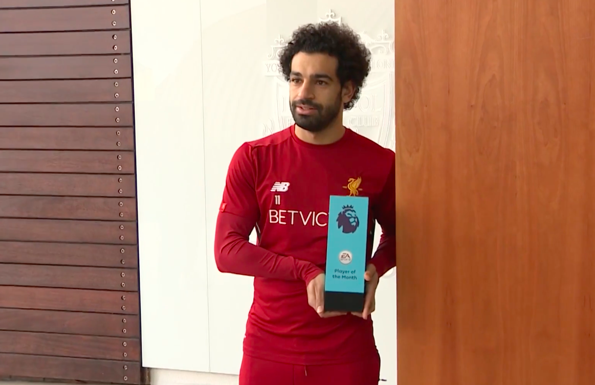 Liverpool star Salah earns ultimate praise as Pele salutes award-winning form