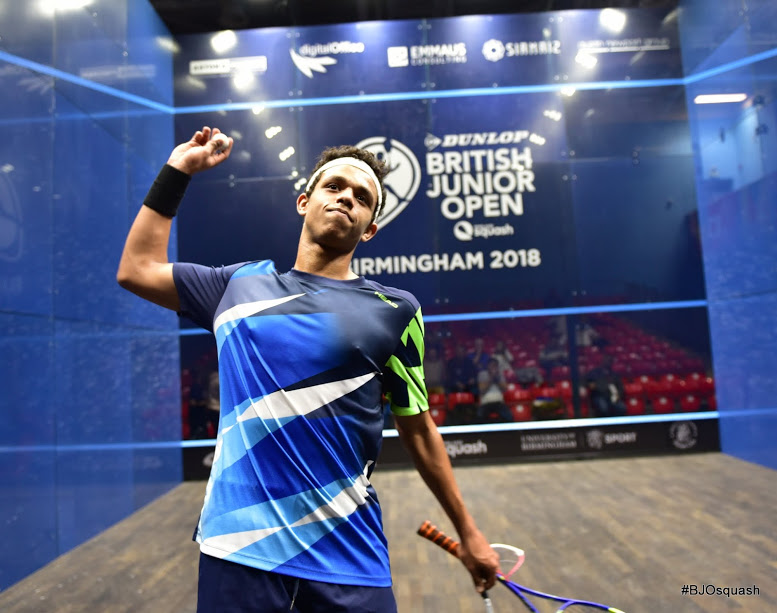 4 egyptian champions rank first at the british junior squash open