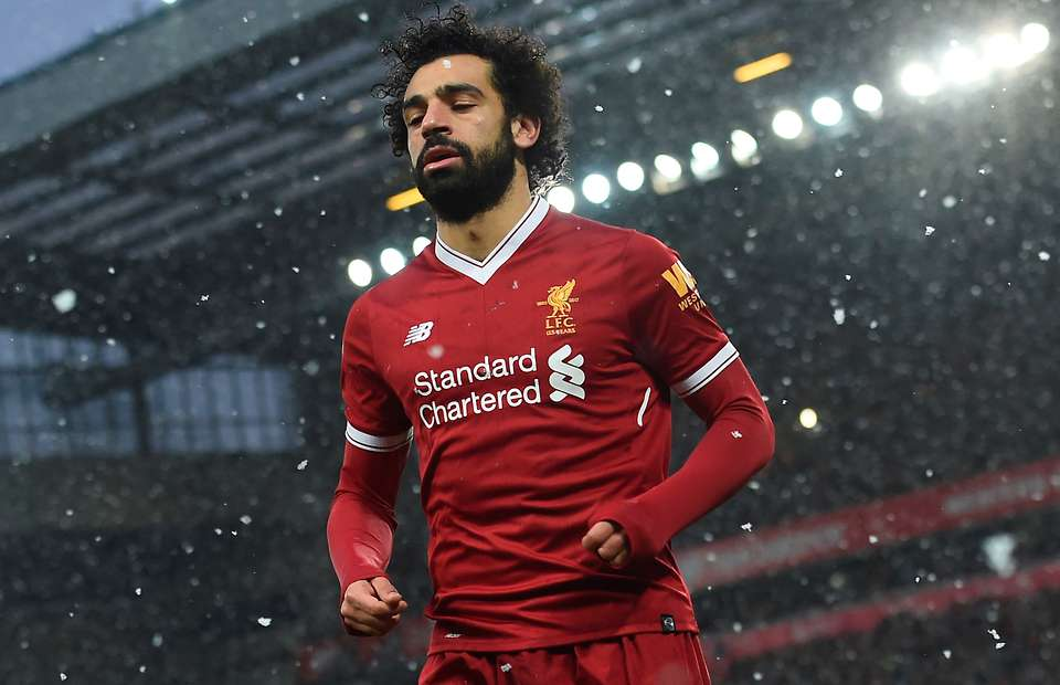 Egyptian footballer Mo Salah spectacularly takes over England